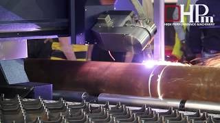 """HPm – Steel Max in Milan at """"Lamiera Exhibition 2017″ presented with the Bevel, Drilling Head and Pipe Cutting"""