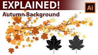 How To Create Custom Autumn Leaves Brushes In Adobe Illustrator