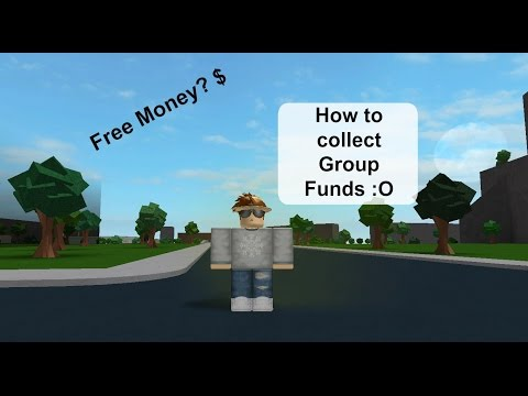 Roblox how to give group funds! (NEW VERSION) - смотреть