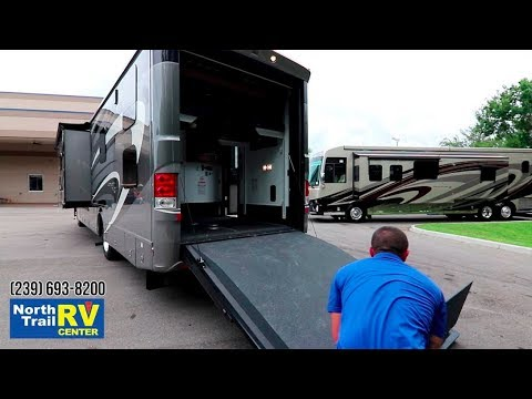 Extreme RV 45 Foot Super C Garage Unit & Renegade Trailer - смотреть