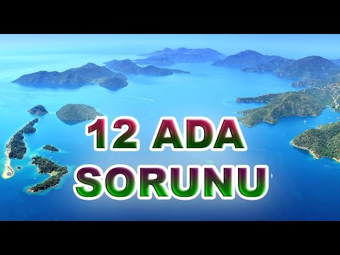 Oniki adanın Yunanistan'a verilmesine kimler sebep oldu ? - 12 ada sorunu HD