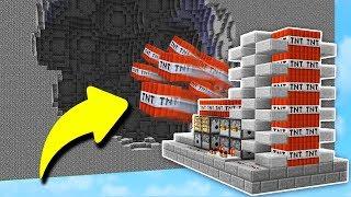 OVERPOWERED CANNON DESTRUCTION!   Minecraft TNT WARS!