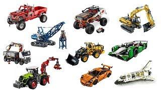 TOP 27 Biggest Lego Technic sets ever
