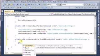 Copy option for treeview control(C# code)
