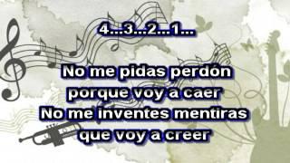 Banda Ms - No Me Pidas Perdón - Versión Mariachi Karaokes demo 2015