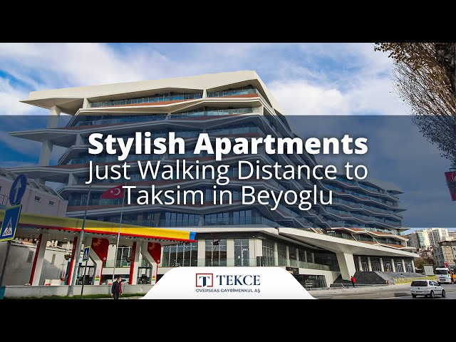 Apartments in Beyoglu Istanbul with Modern City Concept