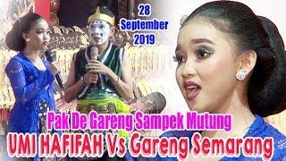 UMI HAFIFAH Sinden LUGU Pak De Gareng Nganti Mutung 28 September 2019