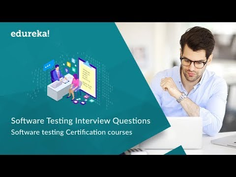 Top 50 Software Testing Interview Questions & Answers | Software Testing Training | Edureka