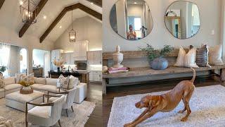 LIVING ROOM & ENTRY WAY TOUR! HOME TOUR SERIES | Julia & Hunter Havens