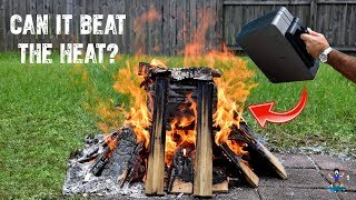 Fire Resistant Safe Test! (Water Resistant)