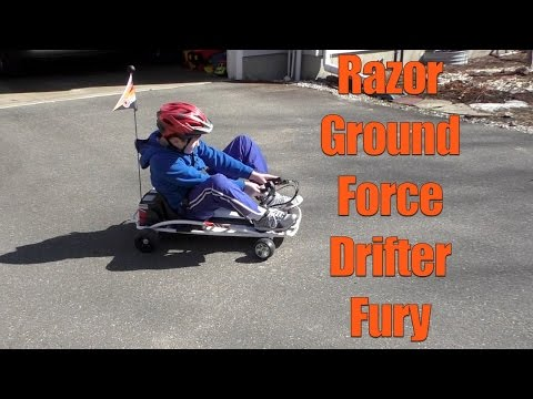 Razor Ground Force Drifter Fury Go-Kart Review