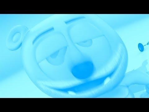 FISHEYE & BLUE & CHIMPUNK Gummibär REQUEST VIDOE French HD Gummy Bear Song
