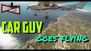 Car guy goes flying! Alicante to Benidorm in a Cessna 172