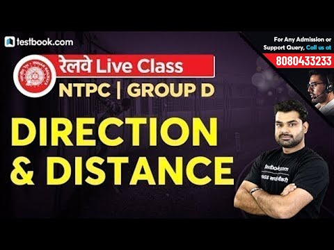 Direction and Distance Reasoning Tricks for RRB Group D Exam & Railway NTPC   RRB NTPC Postponed