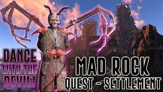 FALLOUT 4 - MAD ROCK -SCARY PLAYER SETTLEMENT MOD