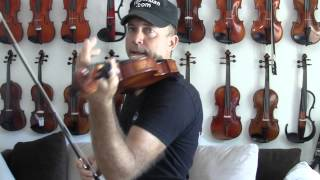 Holding the Violin Without a Shoulder-Rest