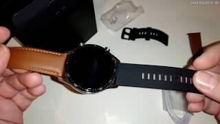 HUAWEI Watch GT 2 - Smartwatch.de Unboxing [DEUTSCH]