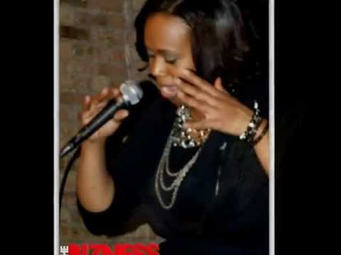 The Bizness Magazine covers Jerelyn Mz'Jae Porch Doing Spoken Word @REDkiva Night Club