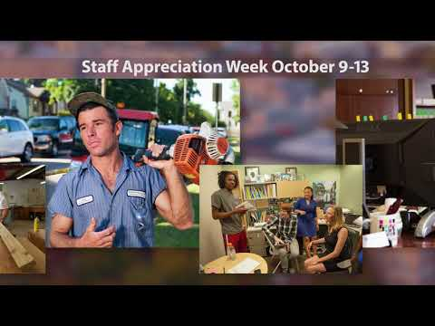 Chancellor Staff Appreciation Message