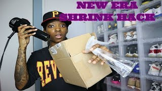 How to Shrink Your Fitted Hat + Born and Raised Unboxing | VEDA Day 2