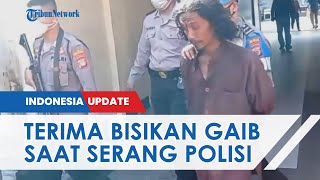 Tampang Pria Misterius yang Serang Mapolresta Yogyakarta, Polisi Duga Pelaku Alami Gangguan Jiwa