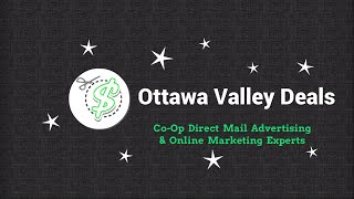 preview picture of video 'Ottawa Valley Deals - Co-op Direct Mail Advertising & Online Marketing Services Renfrew, Ontario'
