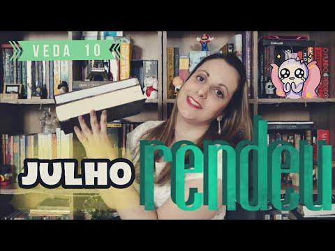 Leituras de Julho | VEDA #10 | Pilha de Leitura