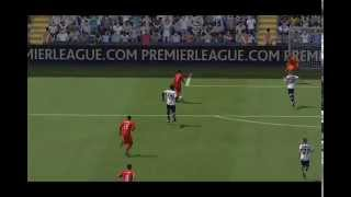 preview picture of video 'Steven Gerrard rocket against Spurs in FIFA14 on PS4'