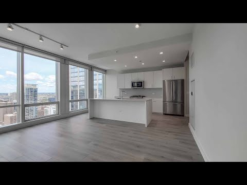 A River North 1-bedroom CA4 at the new One Chicago Apartments