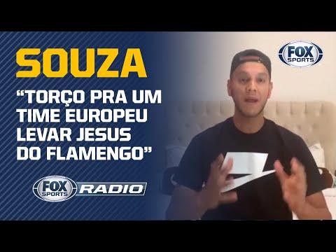 VASCO, FLAMENGO, JESUS E MAIS! Souza dá show de opinião e sinceridade no 'FOX Sports Rádio'