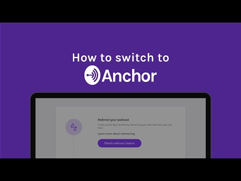 How to switch to Anchor