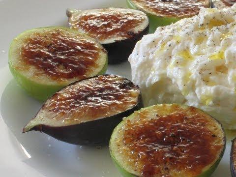 Fig Brulee Recipe – How to Brulee Fruit