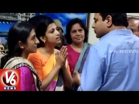 Minister KTR Fires On Collector Amrapali