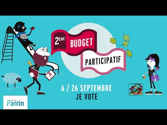 Budget participatif #2 : je vote ! © ville de Pantin