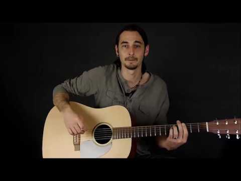 Beginner Guitar Lesson 9 : Power Chords 2 : How To Move