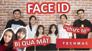 Thử thách FACE ID iPhone X với những cặp sinh đôi thực tế || TechMenu || TECHMAG