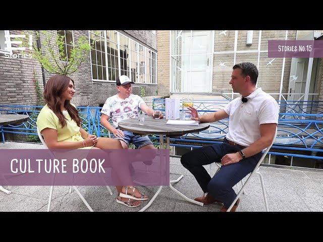 Lucie Vurbsová a Adam Hazdra o culture booku | EVOLVE! Stories | No.15