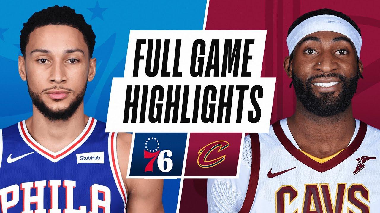 76ers vs Cavaliers | Sunday, December 27, 2020