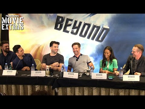 """Star Trek Beyond"": Press conference with cast, writers and producers"