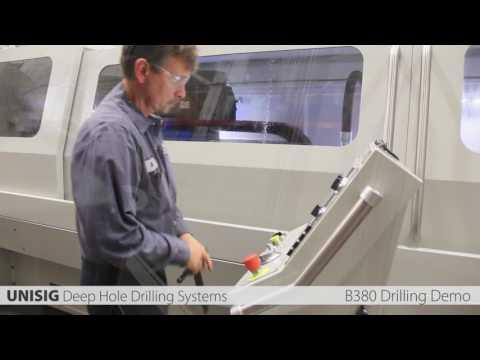 B380 Tiefbohrmaschine für BTA Bohren - UNISIG Deep Hole Drilling Systems