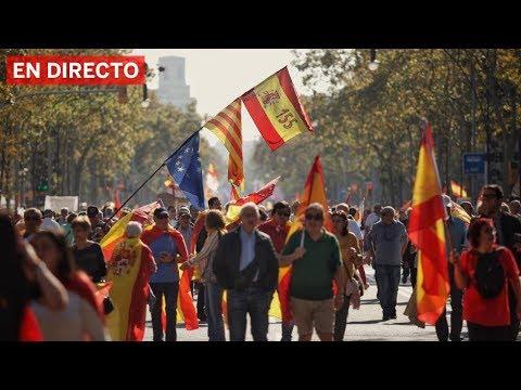 Gegen die Abtrennung Kataloniens