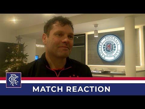 DEV REACTION | Graeme Murty | Rangers 4-0 Brentford B