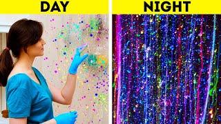DAY VS NIGHT || STUNNING DIY IDEAS