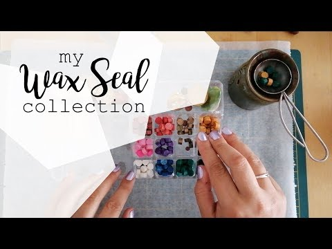 WAX SEAL STAMP COLLECTION | tips, tricks and trying them all
