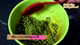 Peas Fry- How to Make Green Peas Fry