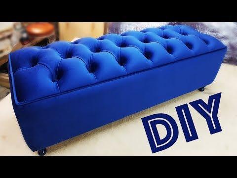 БАНКЕТКА мебель СВОИМИ рукамиDIY BANQUET furniture with your hands