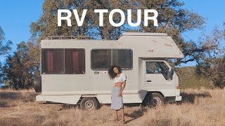 JAPANESE RV TOUR (before remodel)