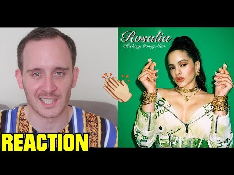 ROSALÍA - F*cking Money Man (Milionària + Dio$ No$ Libre Del Dinero) (REACTION)