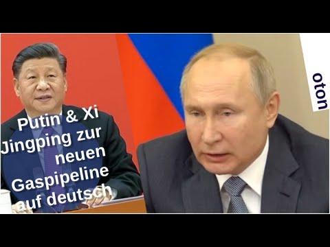 Putin & Xi Jingping zur neuen Gaspipeline auf deutsch [Video]