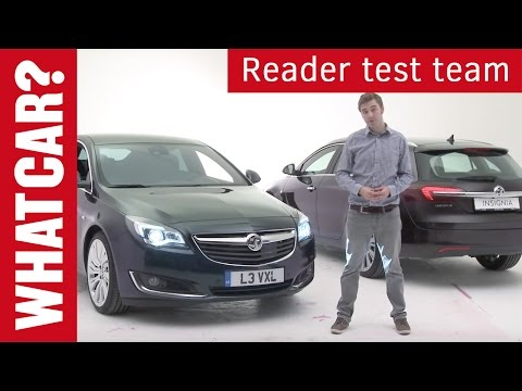 What Car? readers preview the 2013 Vauxhall Insignia